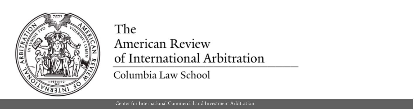 American Review of International Arbitration
